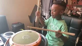 Little Drummer Boy - Twinkle Twinkle Little Star Drum Solo
