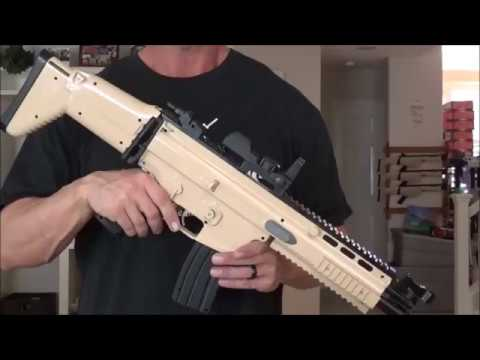 Fortnite SCAR Replica With Full Auto Firing Mode
