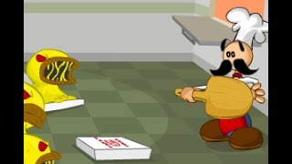 Jugando Papa Louie: When Pizzas Attack