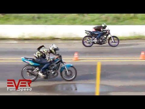 Kawasaki Victor vs Yamaha YZ vs Ninja 300 vs Yamaha RX   Final 14 seg 2 válida motos 2017
