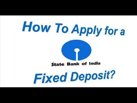 state bank of india how to apply