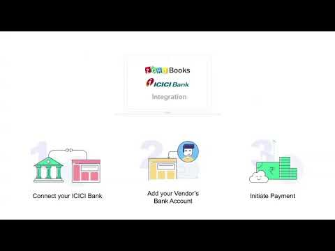 Zoho Books ICICI Bank Integration
