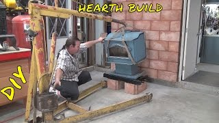 Wood Stove Hearth Pad Build & Install in the Workshop EP 4 of 7