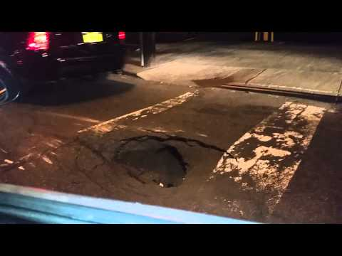 The city of new york potholes