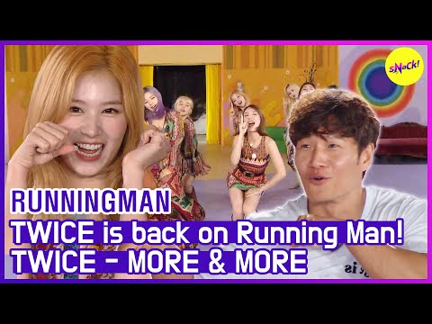 [HOT CLIPS] [RUNNINGMAN]TWICE new song performance!(ENG SUB)