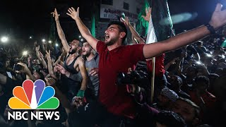 Palestinians Celebrate Gaza Cease-Fire But Israelis Remain Cautious