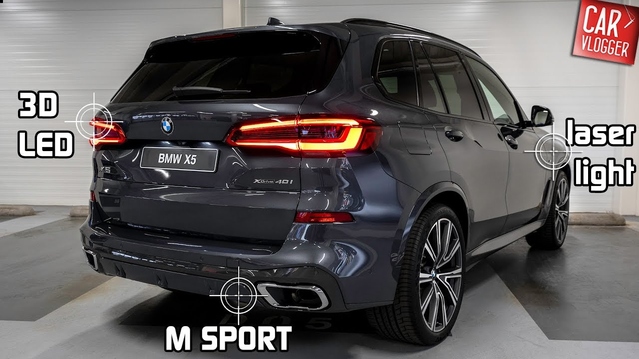 Inside The New Bmw X5 Xdrive40i 2019 Interior Exterior Details W