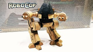 How to make War Robot from Cardboard\ED-209 from Robocop\Amazing action figure DIY