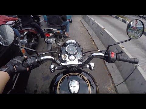 Testride ROYAL ENFIELD BULLET 350 #motovlog Indonesia