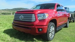 2014 Toyota Tundra First Drive & 0-60 MPH Review