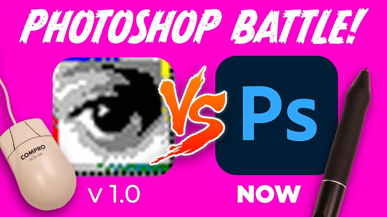 Can I DRAW in PHOTOSHOP: V.1?! - *painful*