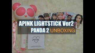 Kpop Lightstick 에이핑크 공식 응원봉 버전2 판다봉2 개봉 후기
