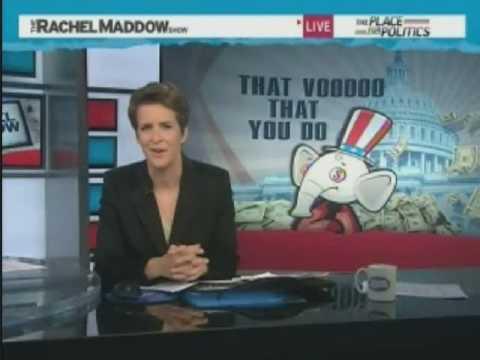 Rachel Maddow Uses Bush Sr Voodoo Economics Statement Against GOP Tax Cuts