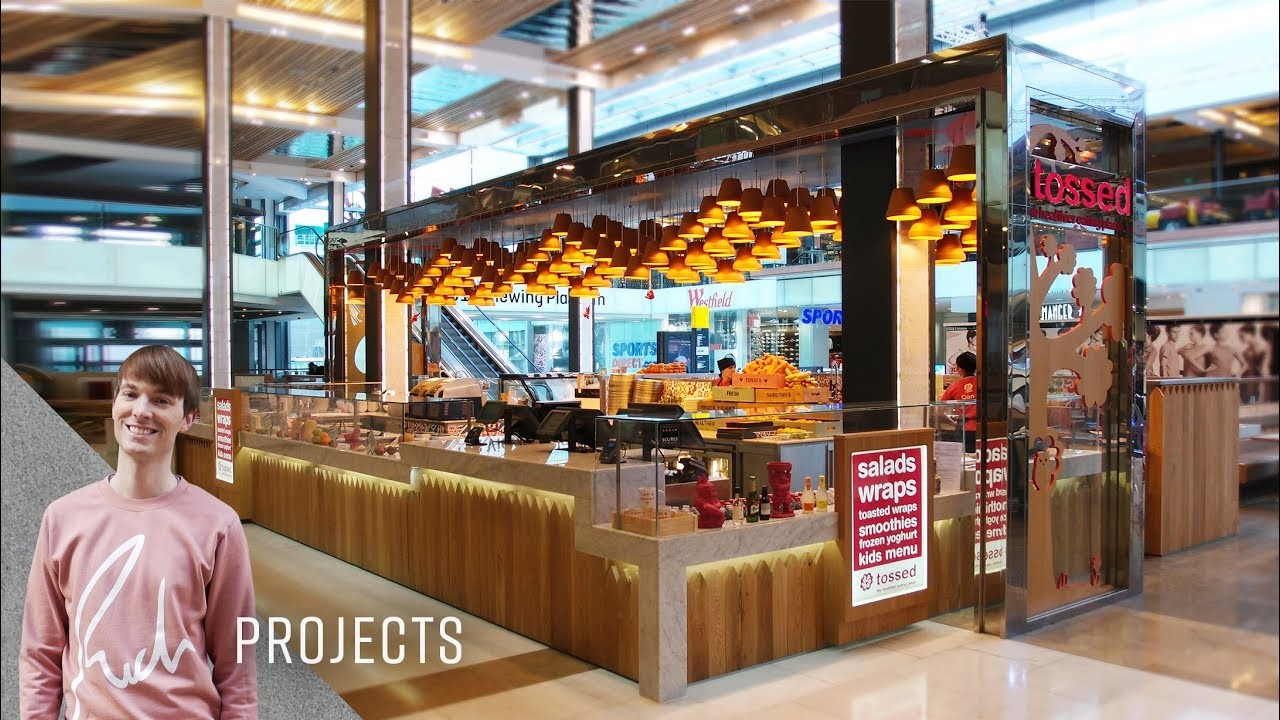 Tossed, Westfield Stratford | Rich Projects