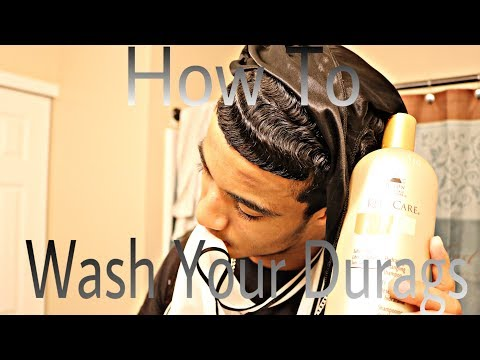 How To Get Straight Hair Waves: How To Wash Your Durags