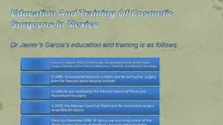 Cosmetic Sergeons In  Mexico.wmv