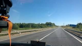 Самая высокая точка Вологодской области - на шоссе Пудож-Вытегра - 1 ч из 6