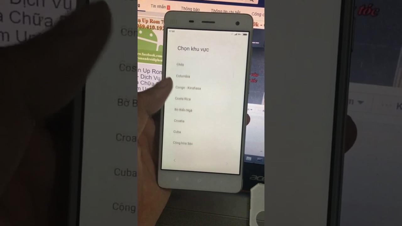 Phá tài khoản xiaomi account micloud Mi 3w 4 4c 4i 4s xóa tài khoản mi khi lên miui v8 cho Xiaomi #1