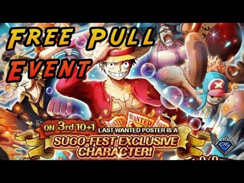 Free Pull Event! Jeden Tag ein RR [One Piece Treasure Cruise]