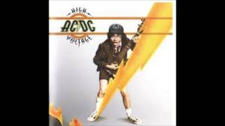 AC/DC - High Voltage - Live Wire HD