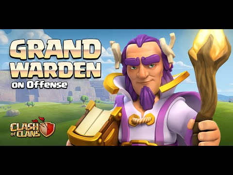 Clash of Clans - NEW HERO REVEAL! Grand Warden Gameplay! (Town Hall 11 Update)