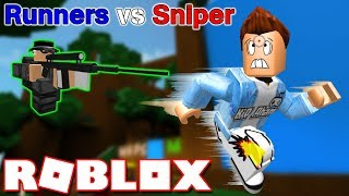 Roblox   TIÊU DIỆT THẰNG SNIPER ĐIÊN KHÙNG - Runners vs Sniper   KiA Phạm
