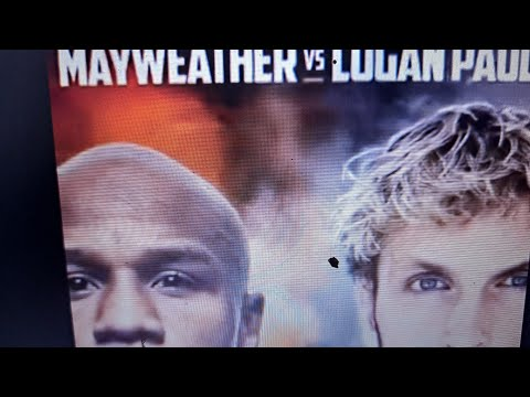 Say What ? Floyd Mayweather vs Logan Paul