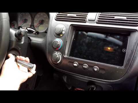 Acer Iconia A100 car installation