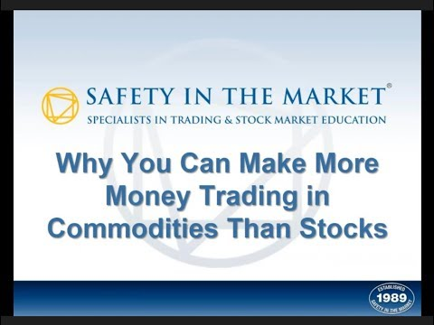 WD Gann - Why You Can Make More Money in Commodities than Stocks