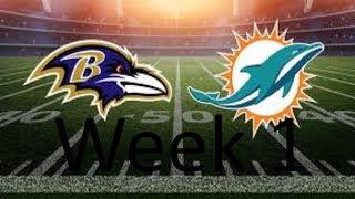 Ravens Vs Dolphins| SFL | Legendary Football | Roblox | (HIGHLIGHTS)