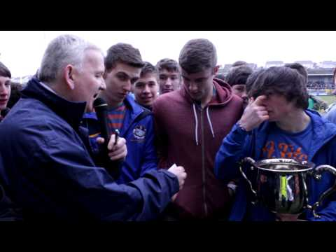 Half Time Draw made by St Michaels Lurgan - MacLarnon Cup Winners 2013