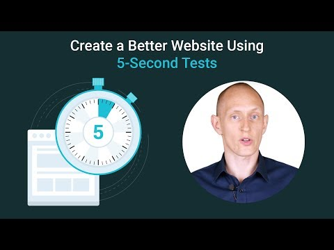 What is a 5 Second Test? Usability Testing for a Higher Converting Website