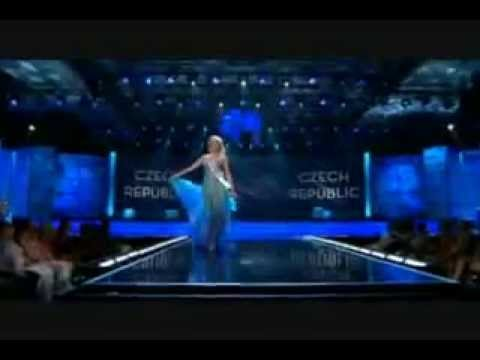 Miss Universe 2009 evening gown - YouTube