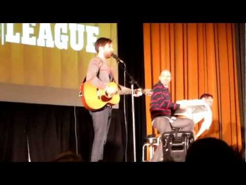 The Birthday Song - The League LIVE at Tulane