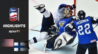 USA siegt nach Overtime: USA - Finnland 3:2 | Highlights | IIHF Eishockey-WM 2019 | SPORT1