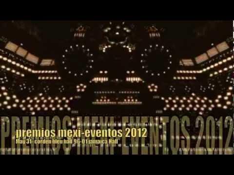 PREMIOS MEXI-EVENTOS 2012