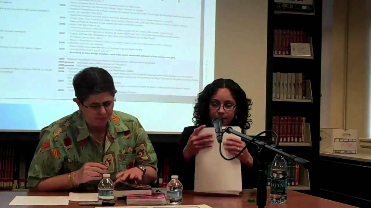 A Book Discussion With Georgina Guzman, Alma Lopez And Alicia Gaspar De Alba