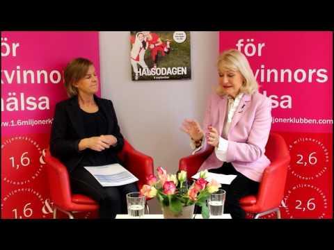 Alexandras Hörna med Charlotte Bohman, generaldirektör för Hand in Hand
