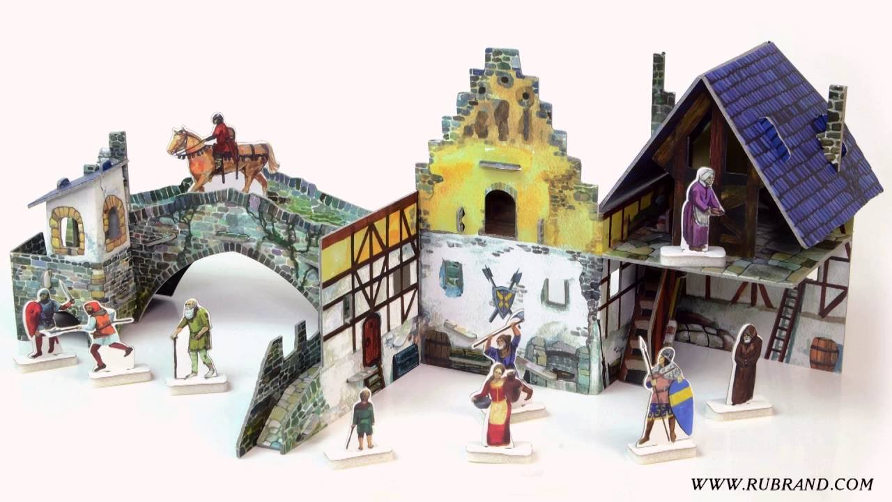 Bridge - cardboard terrain for war games and dioramas by Clever Paper
