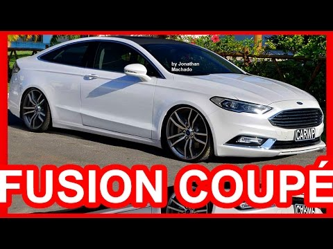 PHOTOSHOP Ford Fusion Coupé 2017 #FORD #FUSION