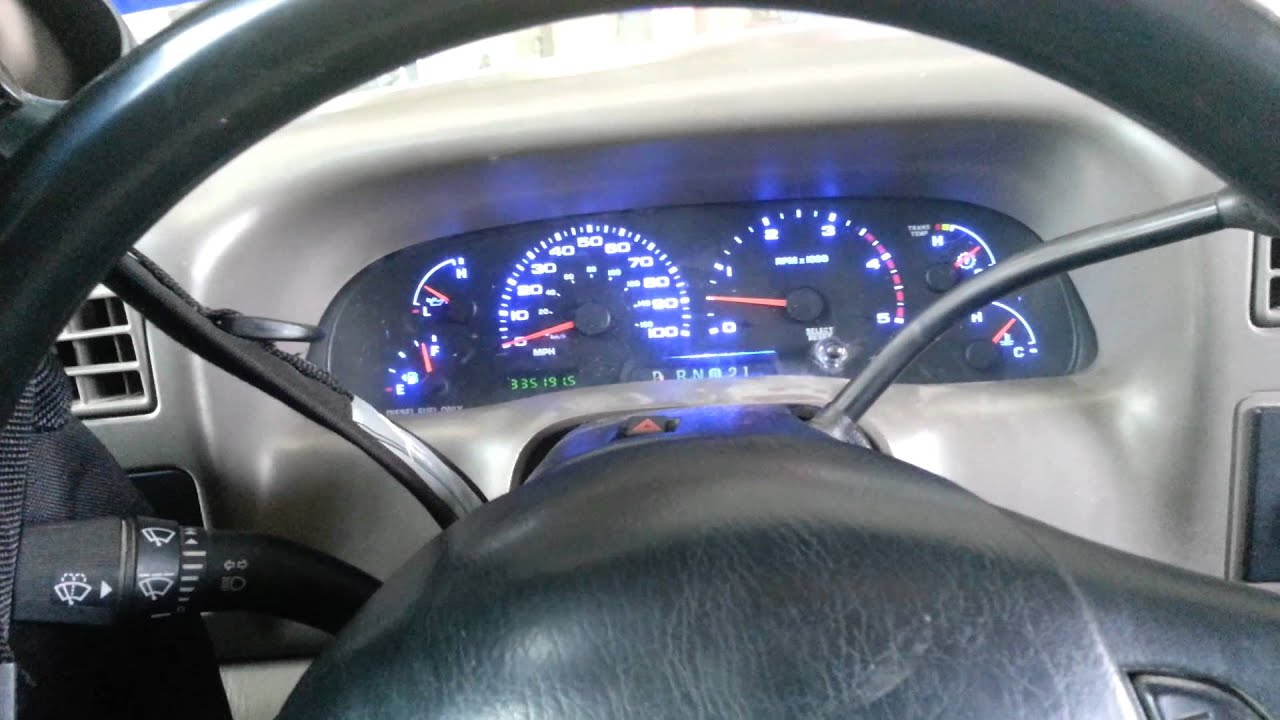 2002 ford F250 multicolor led conversion - YouTube