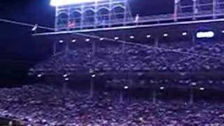 Chicago Cubs 2003 NLCS Game 1 - 7th inning Jimmy Buffet