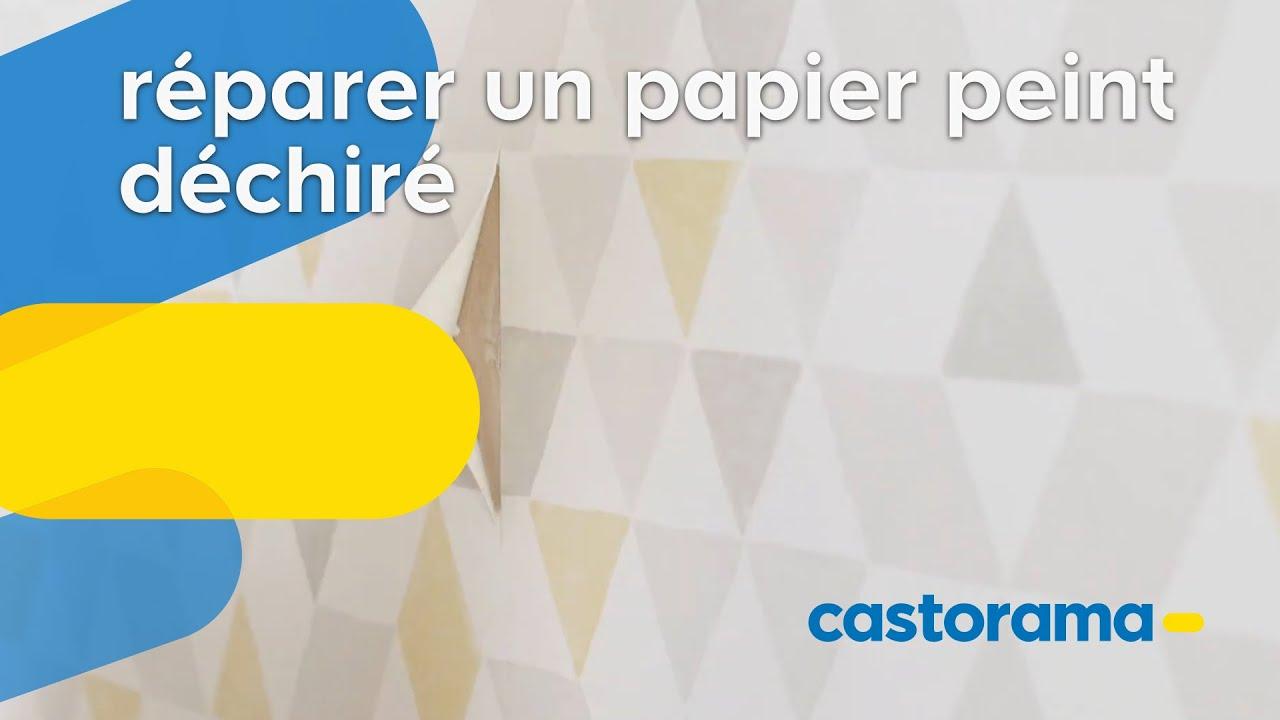 Comment Reparer Du Papier Peint Murs Castorama Fr