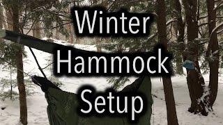 My Winter Hammock Camping System