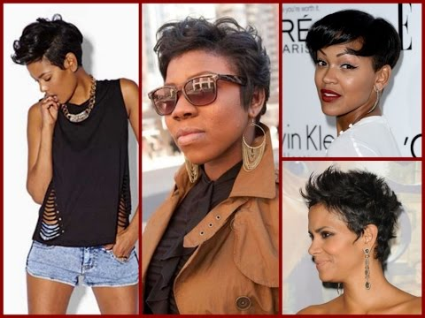 How To Styling Pixie Haircut For Black Women Youtube
