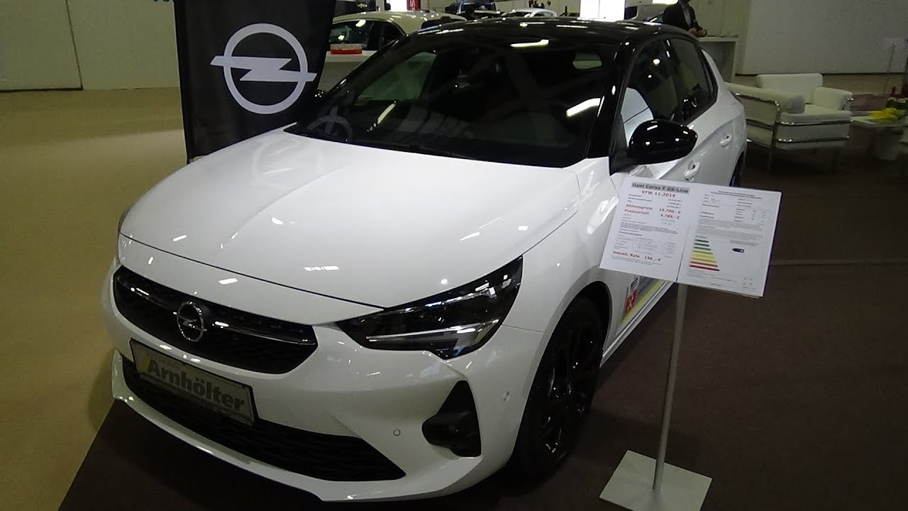 2020 Opel Corsa Gs Line Exterior And Interior Autotage Berlin 2019 Youtube