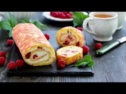 recette-:-bûche-légère-aux-framboises-et-au-mascarpone