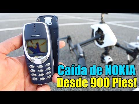 Nokia 3310 Prueba de Resistencia - Caída desde 900 Pies!