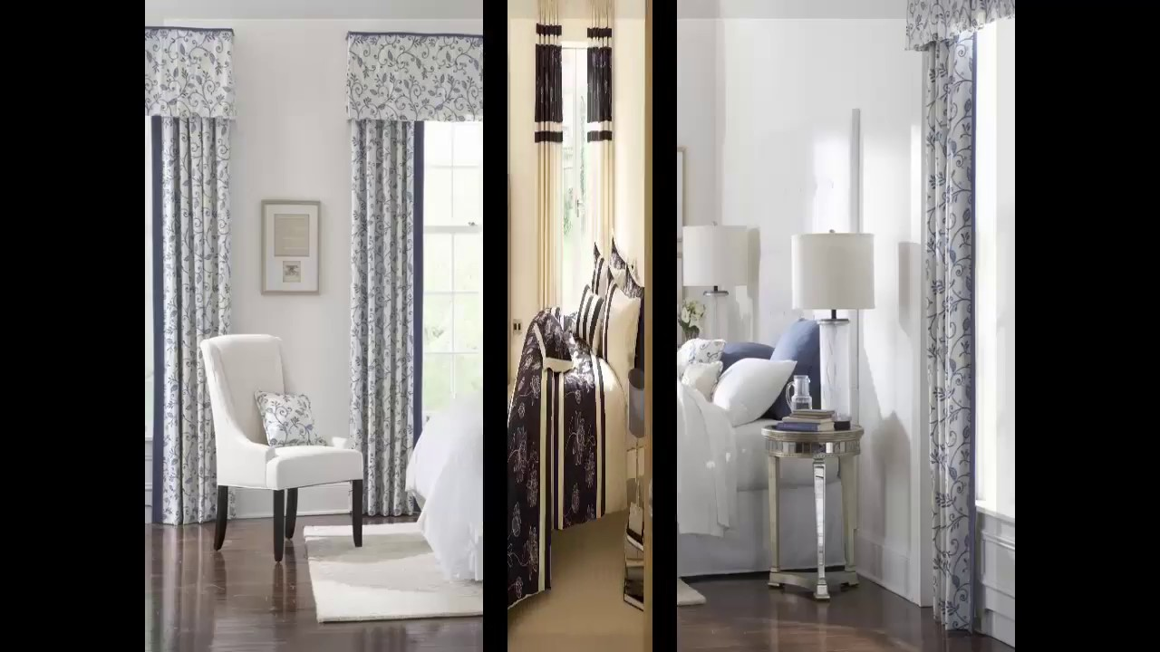 moderne schlafzimmer gardinen - YouTube