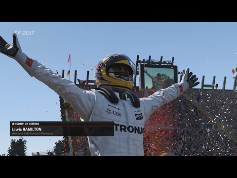 F1 2017 - GP MÉXICO 29/10/2017 - Lewis Hamilton TETRA! [ PC Gameplay / 21:9 /Ultra Settings ]